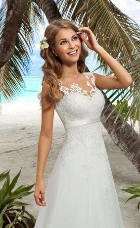 продам свадебное платье от дизайнера Евы Уткиной, размер S