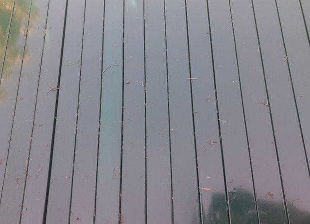Słupki 60x40 TRANSPORT 2,0 m slupek do paneli ogrodzeniowych ral 7016