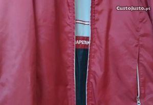 Anorak impermeável cor vermelho Capstan Bay tamanho M - Bom estado