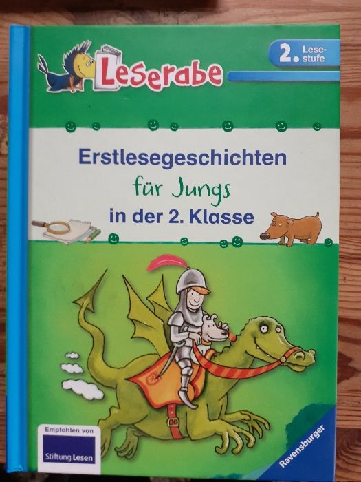 Дитячі книжки німецькою мовою. Leserabe видавництво Обухов - изображение 1