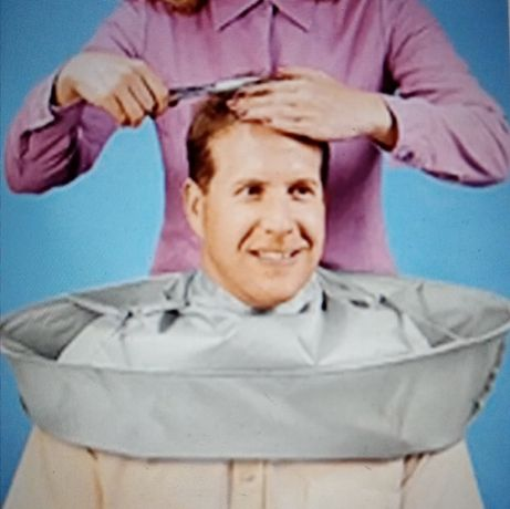 Capa para cabeleireiro/barbeiro nova.