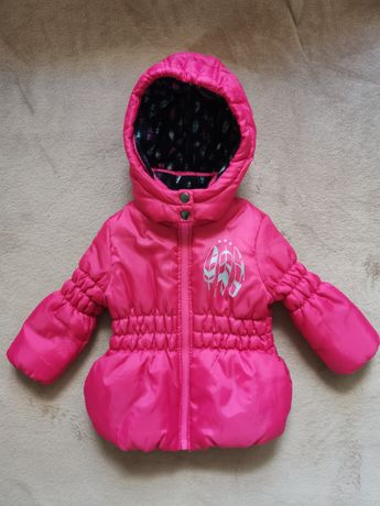 Тёплая демисезонная куртка lupilu 86 размер в идеале