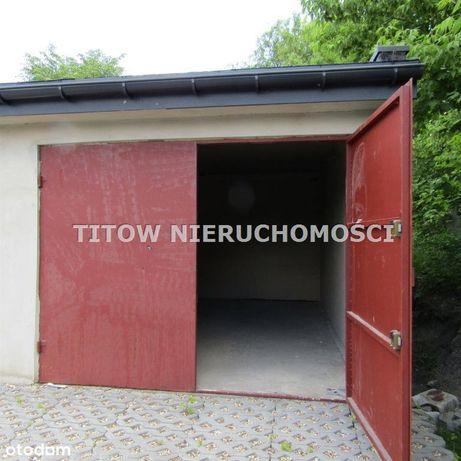 Będzin Ksawera garaż murowany sprzedam