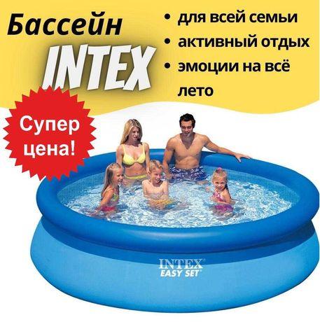 Надувной наливной бассейн Интекс Intex 28120 басейн 305x76 см