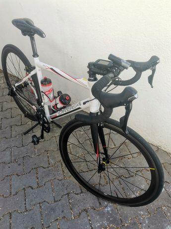 bicicleta orbea tamanho S,M,53 rodas mavic carbono , pedais carbono