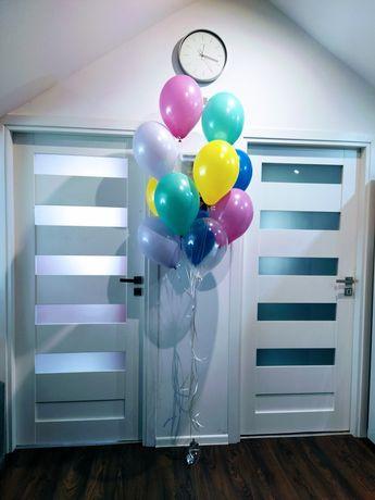 Balony z helem oraz ścianki