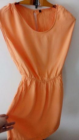 Персиковое Платье United Colors of Benetton