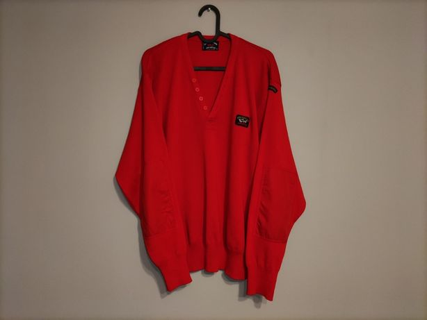 Vintage sweter Paul & Shark Yachting Sportsweat Made in Italy