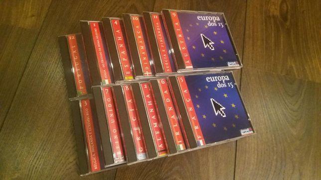 Pack Guia Viagem - 12 CD's Europa dos 15