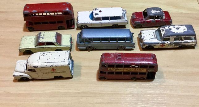 Lote de miniaturas antigas Lesney