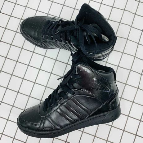 Високі шкіряні кросівки Adidas neo