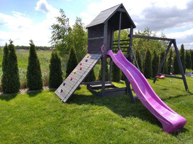 Drewniany Place zabaw dla dzieci SZYBKIE TERMINY REALIZACJI