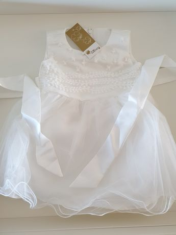 Vestido batizado NOVO (3meses)