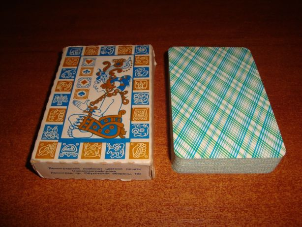 Игральные карты Майя, 1985 г