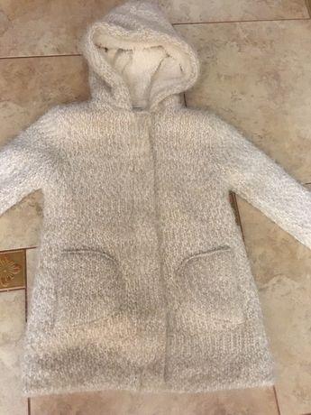 Пальто Zara для девочки 10 лет 140 см