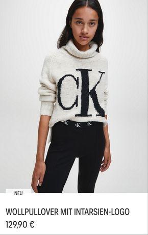 Свитер Calvin Klein,  оригинал, кофта, свитшот