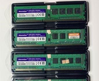 Оперативная память Atermiter/Kingston ddr3 4/8gb 1600mh DIMM. Гарантия