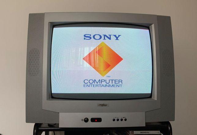 TV Sanyo 52cm - Ideal para consolas antigas