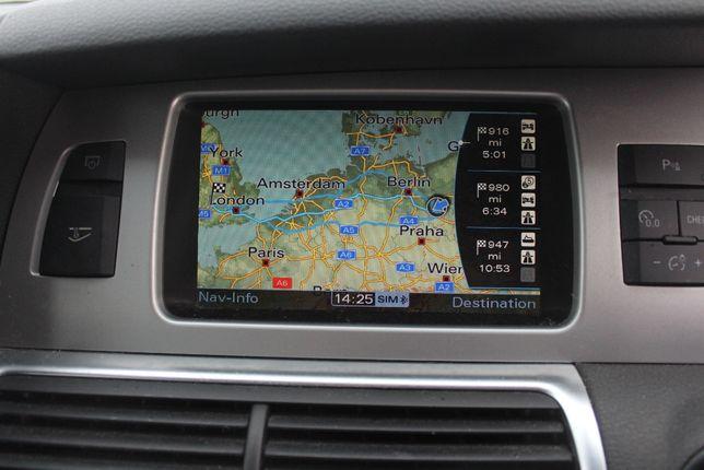 Nawigacja lift Komplet plus panel MMI 3G Audi Q7 4L rok 2010