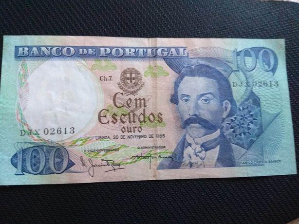 Nota de 100 escudos 1965