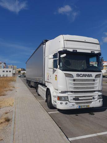 Scania r 520 v8 2014 euro 6