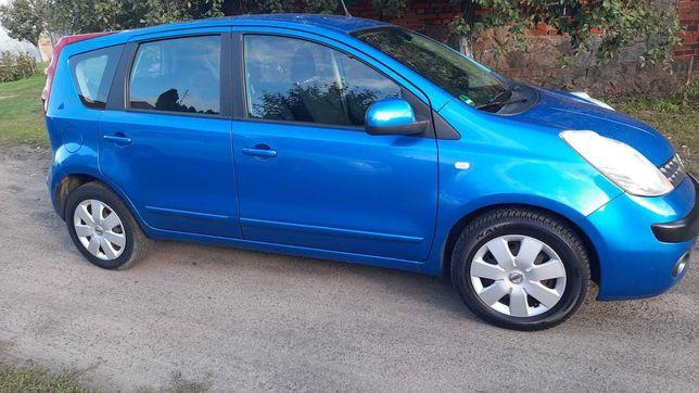 Nissan Note 1.4 ładny zadbany niebieski