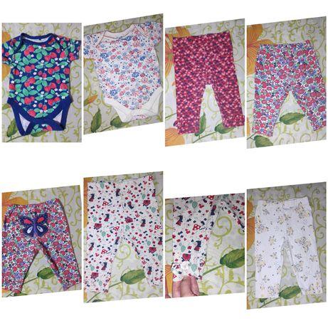 Продам детские вещи на девочку 0-6 месяцев в отличном состоянии