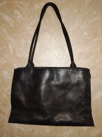Брендовая кожаная сумка