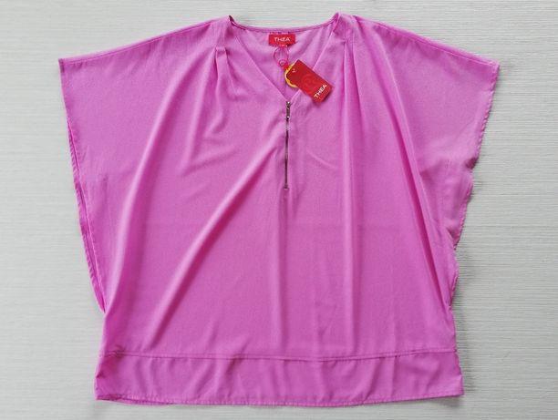 Różowa bluzka nietoperz r.50