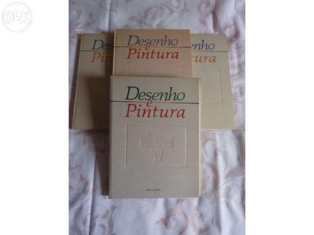 4 Vol. col. Desenho e Pintura (completa)