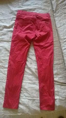 Czerwone spodnie damskie - rurki Norfay Jeans (S)
