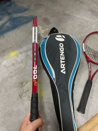 Raquetes de ténis com bolsa