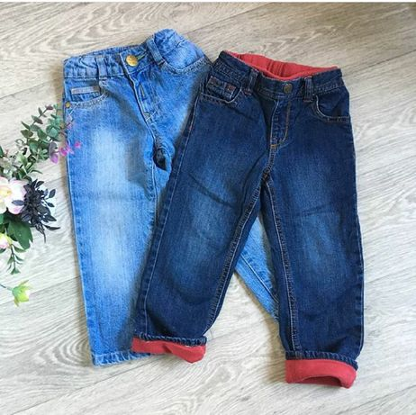 Две пары джинсов Mothercare 1,5-2 года