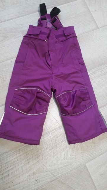 Лижні, зимові штани 86-92