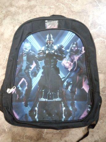 Хит сезона геймерский школьный рюкзак Fortnite стильный скин Фортнайт