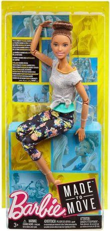Кукла Барби Йога Брюнетка Barbie Made To Move Doll, Brunette