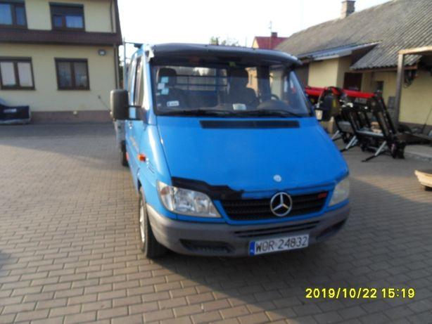 Mercedes Sprinter 313 CDI doka brygadówka 2006r pełny odpis VAT 23%