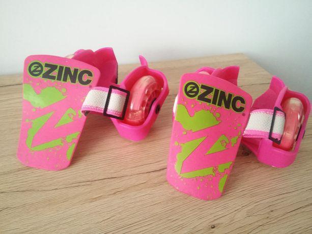 Świecące nakładki , kółka na buty ZINC