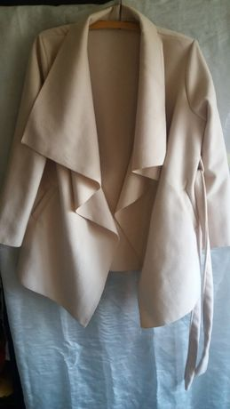 włoski wiązany płaszcz ECRI gratis wysyłka