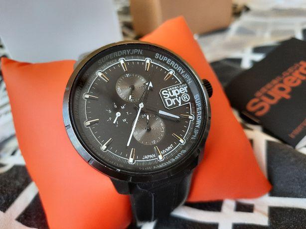 Superdry męskie zegarek SYG218BB Kioto