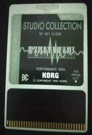 Korg Wavestation Card