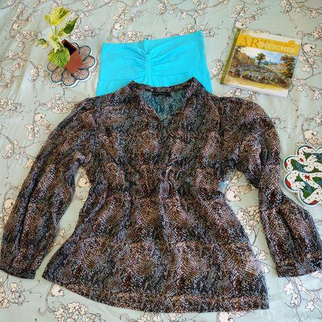 Тонкая летняя блузка