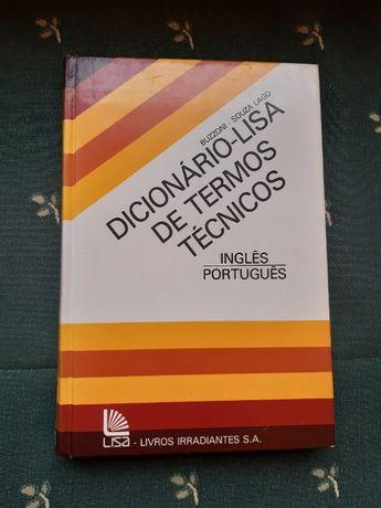 Dicionário Lisa de Termos Técnicos (Inglês-Português)