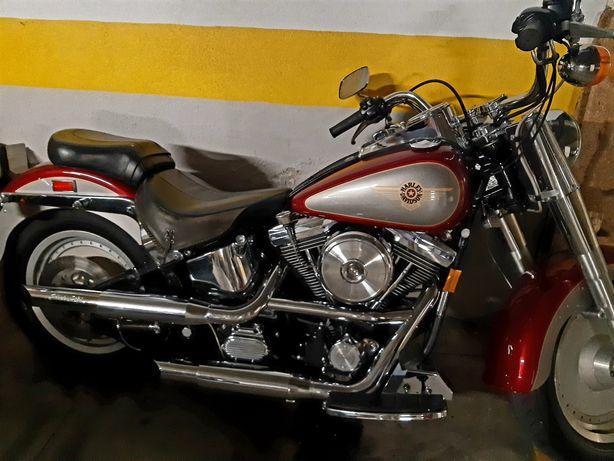 Harley Davidson Softail Fatboy evo