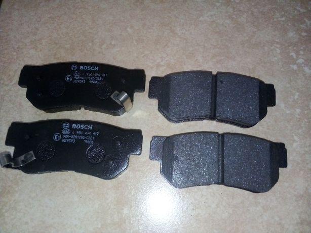 Колодки тормозные задние Bosch 986 494 417
