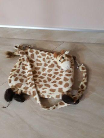 Torebka pluszowa żyrafka dla dziewczynki
