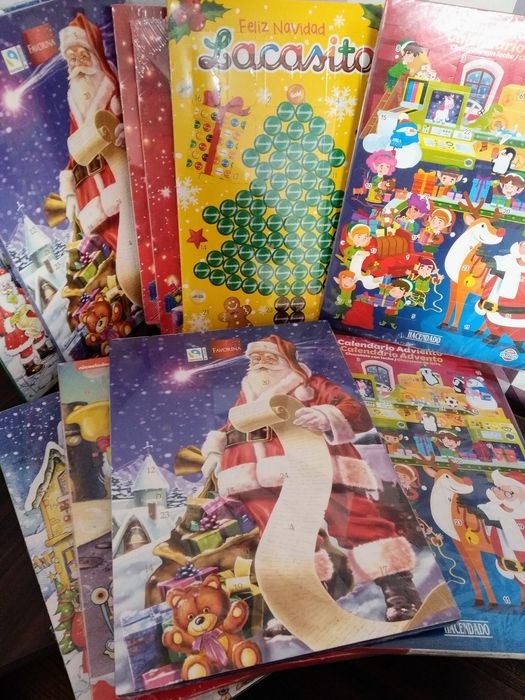 Адвент календари с шоколадом внутри. Испания Новомосковск - изображение 1