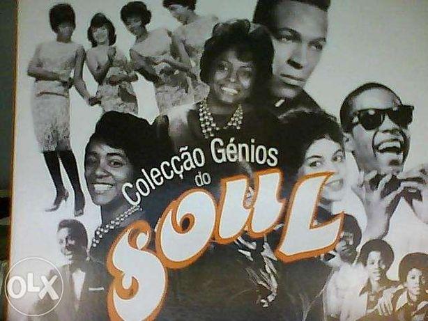"""Colecção """"Génios do Soul"""""""