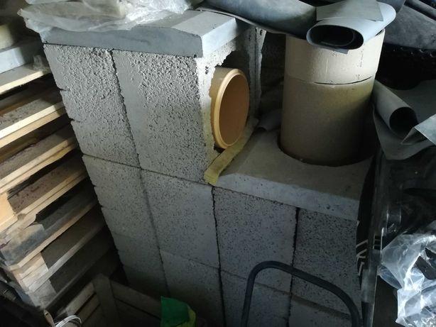 Komin ceramiczny fi 200 mm, wysokość 6 m POLSKI !