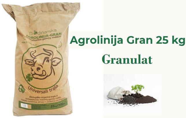 Granulat Agrolinija Ekologiczny Nawóz na kukurydzę rzepak owoce trawy